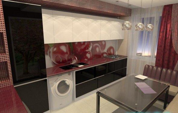 Интерьер стандартной кухни