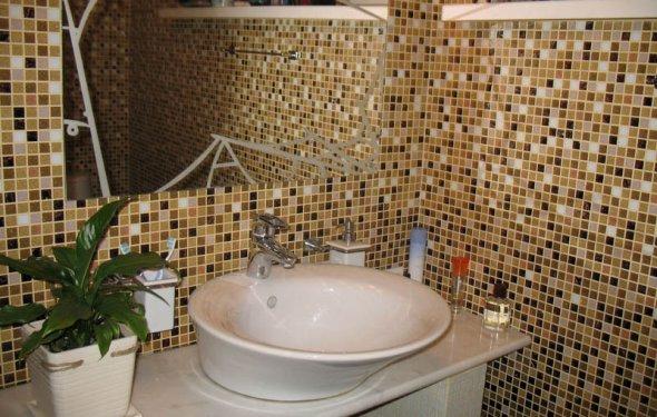 плитка в ванную мозаика 1