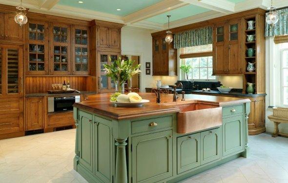 Напольная плитка для кухни: