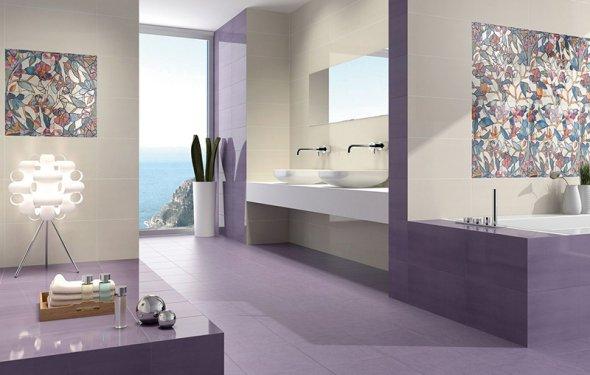 Плитка для ванных комнат